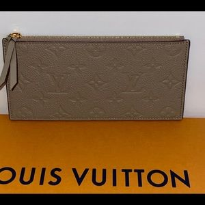 Authentic Louis Vuitton Felice coin pouch insert